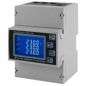 Smartrail X835100MID 4DIN 100A DC Meter with Modbus and pulse