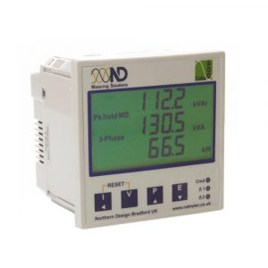Northern Design Cube400 Multifunction IP System Meter with Harmonic Analysis,, Digital Input/Output, Modbus/TCP and Web interface