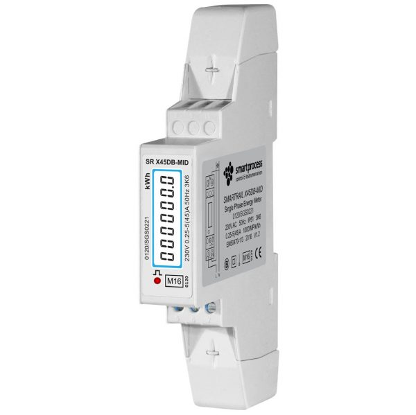X45DB-MID Single Phase 45A MID Certified kWh Meter