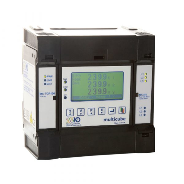 ND Multicube Modular Meter Base Unit with Ethernet communications