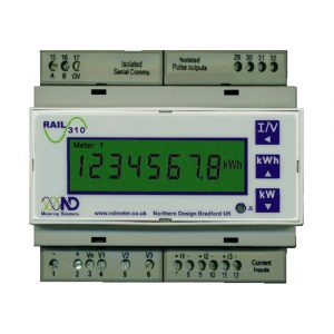 ND Rail 310V Retro-Fit Triple Single-phase Multifunction kWh Meter