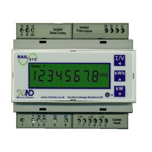 ND Rail 350M Multifunction kWh Meter with Pulse Output and Modbus