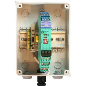 Dual Gas Barrier Relay – mains isolator & fuse