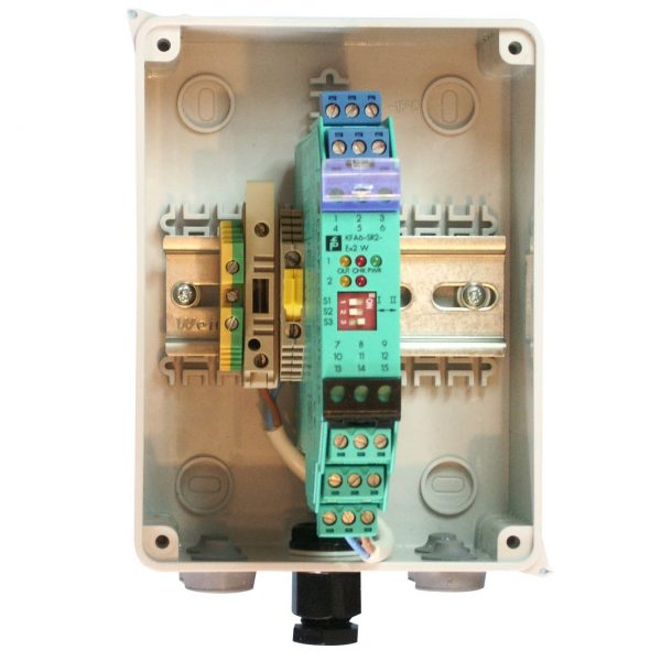 SHM Gas Barrier Relay – mains isolator & fuse